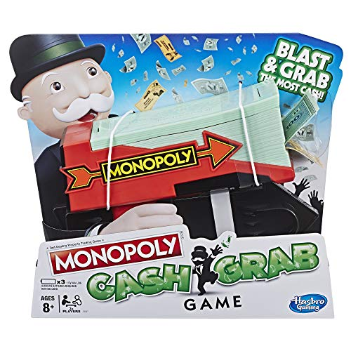 Hasbro Gaming Monopoly Cash Grab Game from Monopoly