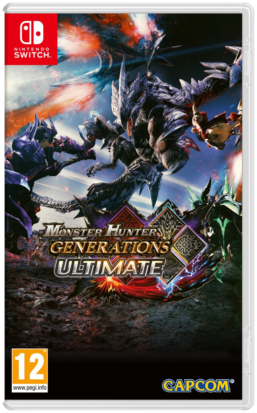 Monster Hunter Generations Ultimate Nintendo Switch Game from Monster Hunter