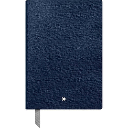 Montblanc Notebook 113639 Fine Stationery #146 Indigo / Elegant Soft Cover Journal / Squared Notebook with Leather Binding / A5 from Montblanc