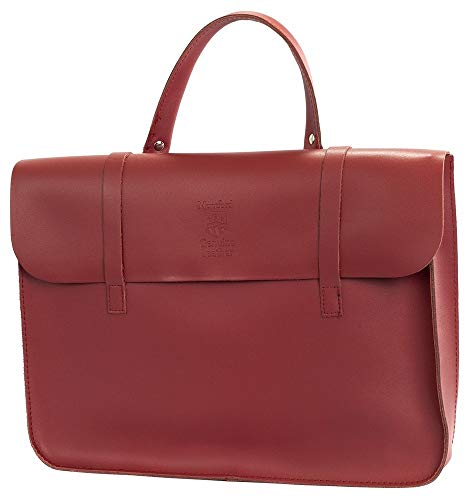 Montford MFC1WR Leather Music Carry Case - Wine Red from Montford