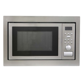 Montpellier MWBI90025 Built In Microwave Oven Grill in St Steel 900W 2 from Montpellier