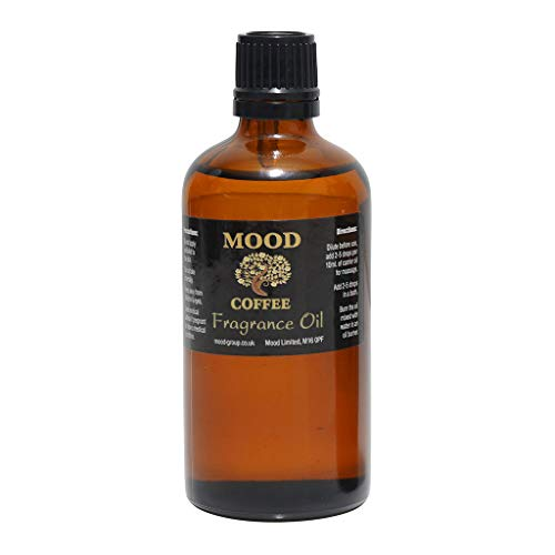 Essential Oils 100ml Pure & Natural Aromatherapy - Choose Fragrance Below (Coffee) from Mood Essential Oils