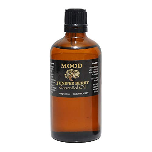 Essential Oils 100ml Pure & Natural Aromatherapy - Choose Fragrance Below (Juniperberry) from Mood Essential Oils