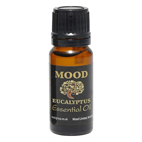 Essential Oils 10ml Pure & Natural Aromatherapy - Choose Fragrance (Eucalyptus) from Mood Essential Oils