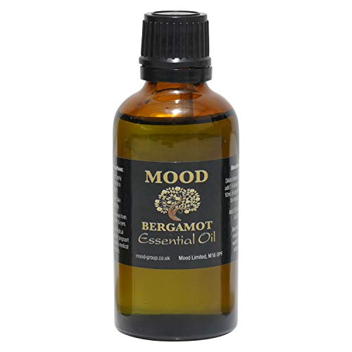 Essential Oils 50ml Pure & Natural Aromatherapy - Choose Fragrance Below (Bergamot) from Mood Essential Oils