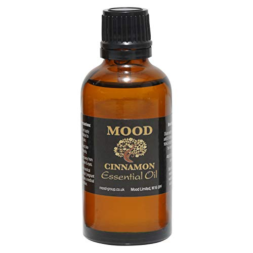 Essential Oils 50ml Pure & Natural Aromatherapy - Choose Fragrance Below (Cinnamon) from Mood Essential Oils