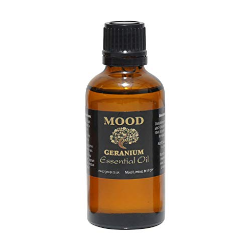 Essential Oils 50ml Pure & Natural Aromatherapy - Choose Fragrance Below (Geranium) from Mood Essential Oils