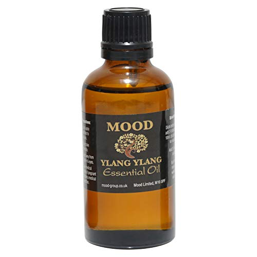 Essential Oils 50ml Pure & Natural Aromatherapy - Choose Fragrance Below (Ylang Ylang) from Mood Essential Oils