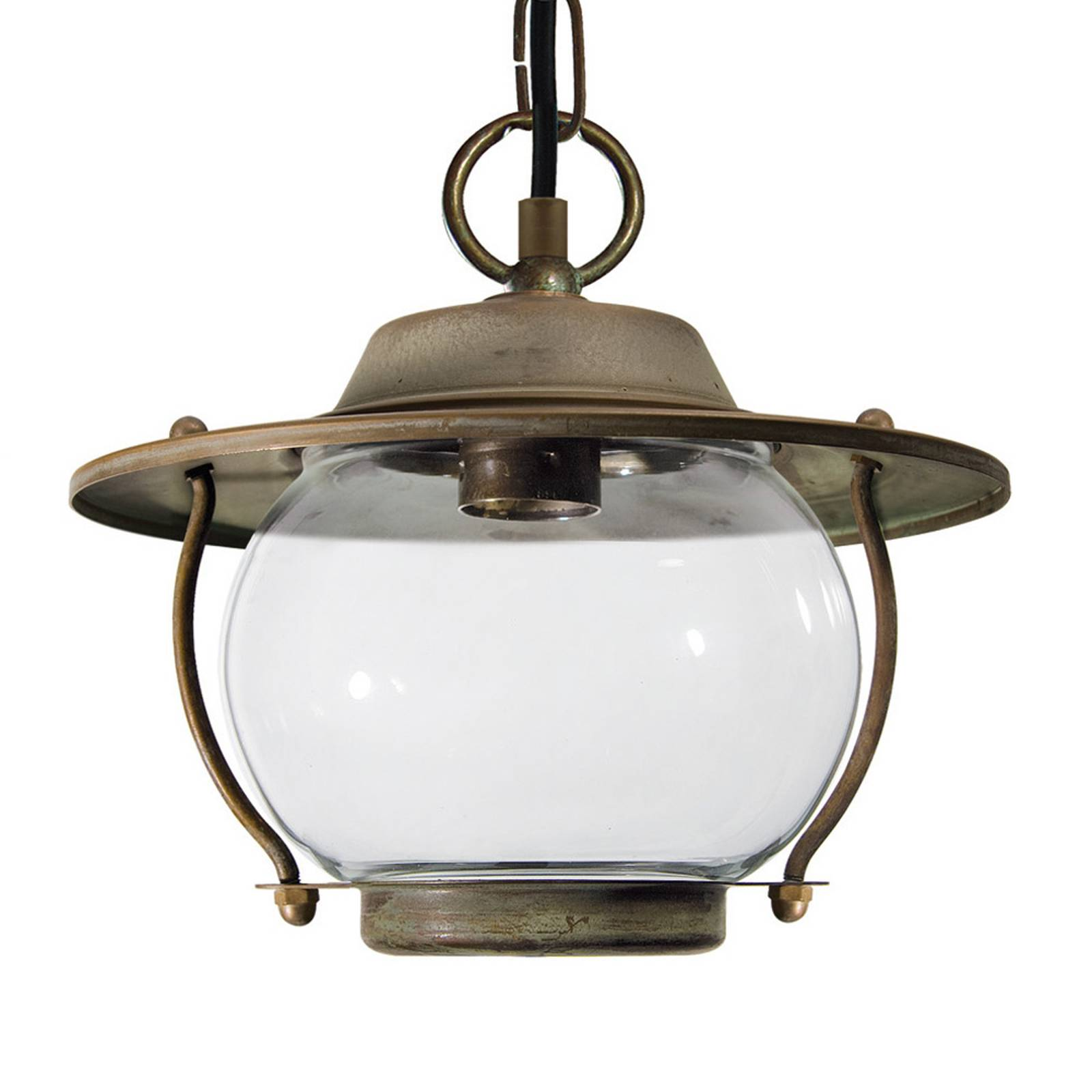With chain - outdoor hanging light Adessora from Moretti