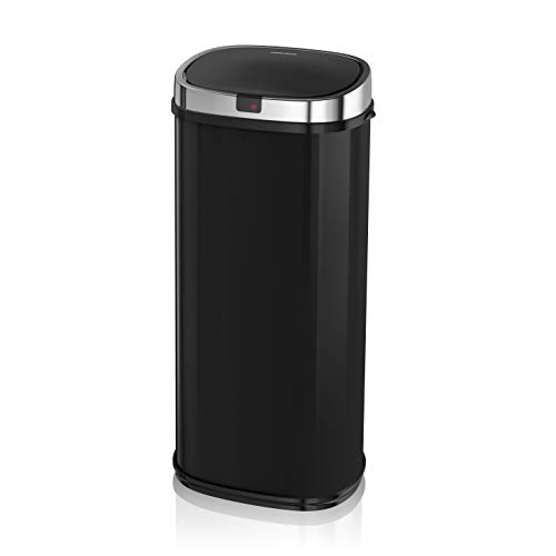 Morphy Richards Chroma Square Sensor Bin with Infrared Technology, Black, 50 Litre from Morphy Richards