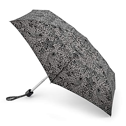 Morris & Co Tiny 2 Folding Umbrella, 15 cm, 1 L, Strawberry Thief Pure from Morris & Co