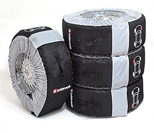 "Richbrook Adjustable Tyre & Wheel Transport, Storage and Protection Bags Set Of 4 - Fits 14"" to 18"" Wheels from Motionperformance Essentials"