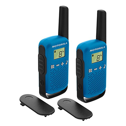 Motorola T42 Talkabout PMR446 2-Way Walkie Talkie Portable Radio's (Pack of 2) – Blue from Motorola