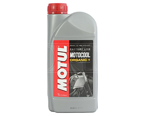 Motul MOTOCOOL Organic+ Factory Line Motorcycle Coolant / Antifreeze - Ready To Use - 1 Litre from Motul