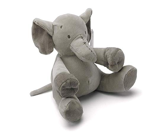 cebc93b4650 Mousehouse Gifts Grey Stuffed Animal Elephant Plush Soft Toy Teddy for New  Born Baby boy or