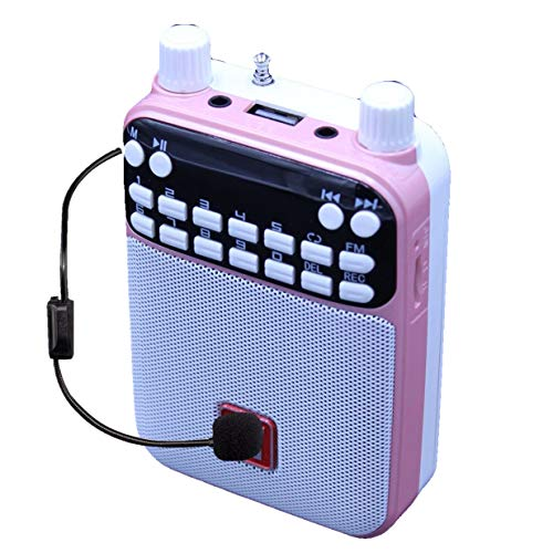 Mr Entertainer Popbox (Pink) Portable Bluetooth Karaoke Speaker, Voice Amplifier & Headset Microphone. Kids Karaoke Machine that works with any Smartphone, iPad or Tablet from Mr Entertainer