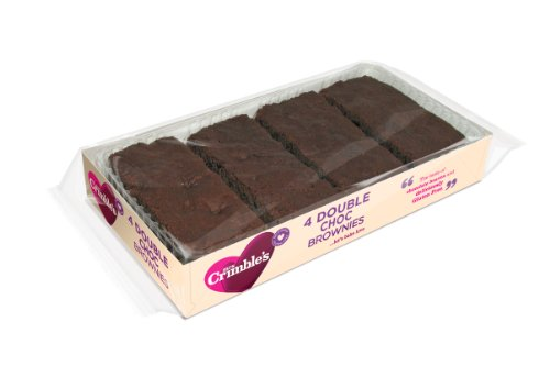 Mrs Crimbles Double Chocolate Brownies 190 g (Pack of 3) from Mrs Crimbles