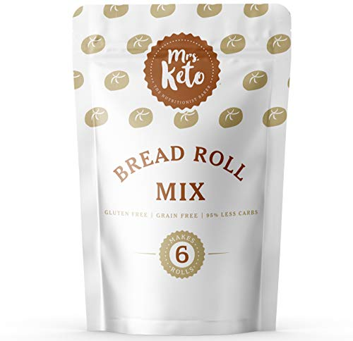 Mrs. Keto Bread Roll Mix - Low Carb, Gluten Free, High Protein from Mrs. Keto