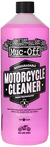 Muc-Off Nano-Tech Motorcycle Cleaner, 1 Litre - Fast-Action Biodegradable Motorbike Cleaning Spray - Safe On All Surfaces And All Types Of Motorcycle from Muc Off
