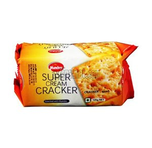 Munchee Super Cream Cracker Biscuits 125 g Pack of 12 from Munchee