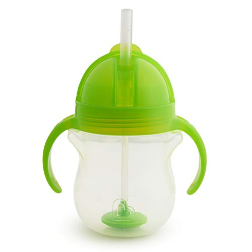 Munchkin Click Lock Weighted Flexi-Straw Cup, Colors May Vary 7 oz from Munchkin