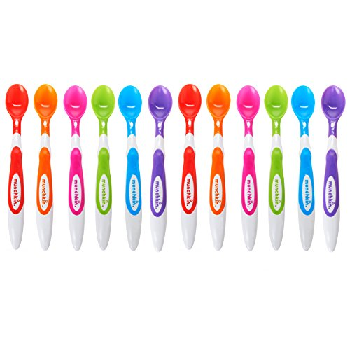 Munchkin 12 Piece Soft-Tip Infant Spoons from Munchkin