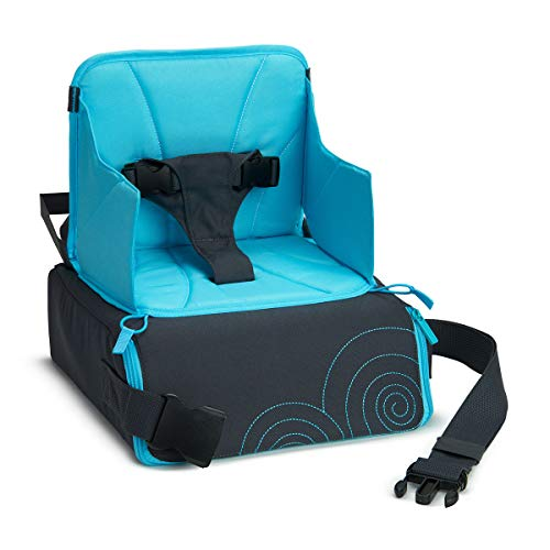 Munchkin Portable Travel Child Booster Seat, Blue/Grey from Munchkin