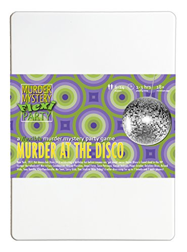 Murder at the Disco 6-14 Player Murder Mystery Flexi Party from Murder Mystery Flexi Party