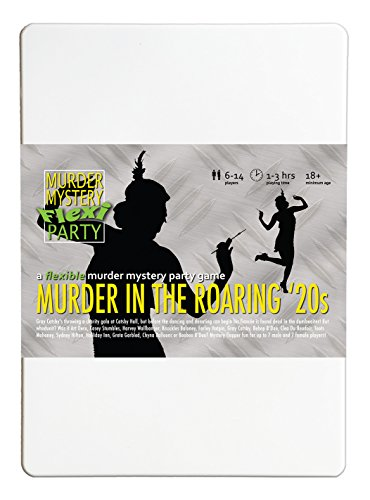 Murder in the Roaring 20s 6-14 Player Murder Mystery Flexi-Party from Murder Mystery Flexi Party