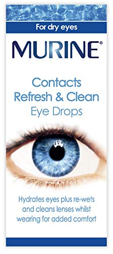 Contacts refresh & clean eye drops from Murine