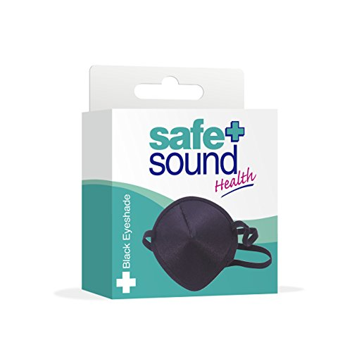 Safe & Sound Black Eyeshade from Murrays