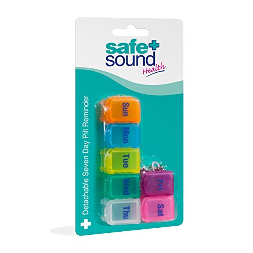 Safe & Sound Detachable Pill Reminder from Safe & Sound