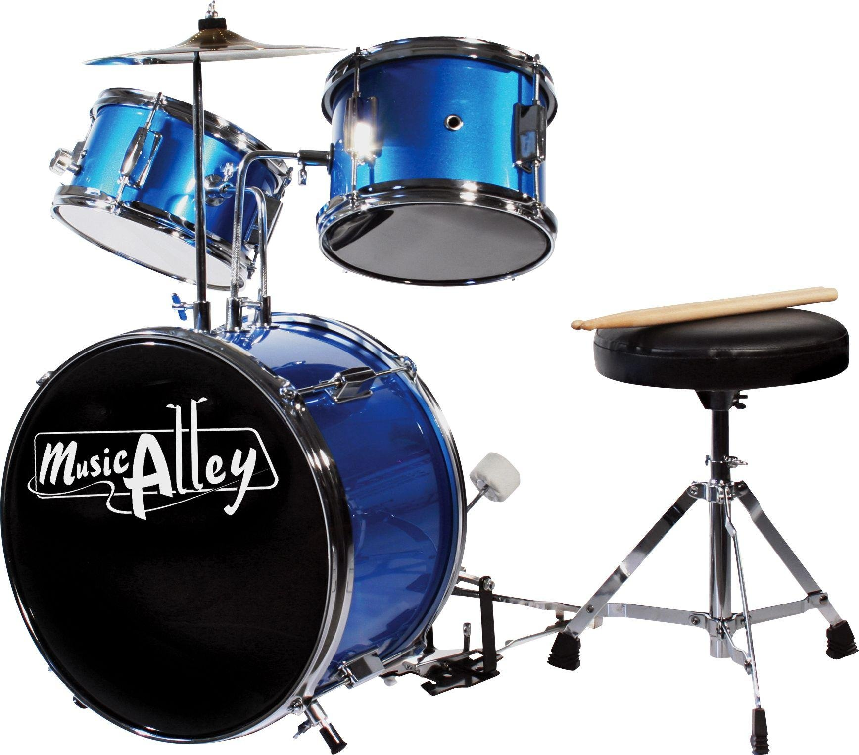 Music Alley Junior 3 Piece Drum Kit from Music Alley