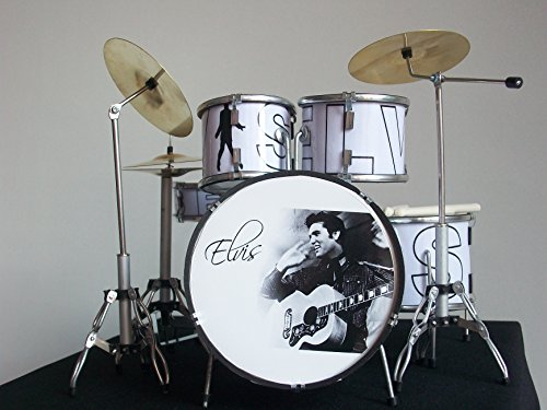 Mini Drum Set Replica for collectors from Music Legend Collection