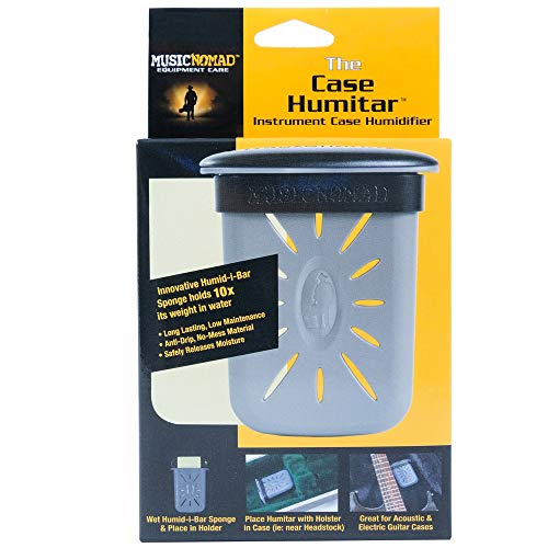 MusicNomad Humitar Instrument Case Humidifier with Holster (MN303) from MusicNomad