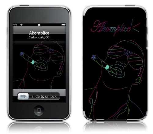 MusicSkins Akomplice - Neon for Apple iPod touch (2nd/3rd Generation) from MusicSkins
