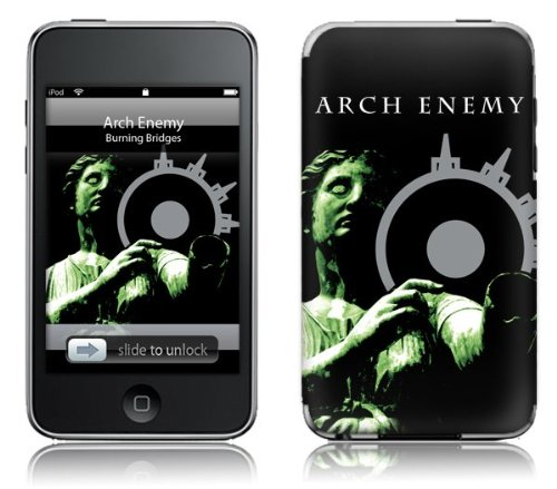MusicSkins Arch Enemy - Burning Bridges for Apple iPod touch (2nd/3rd Generation) from MusicSkins