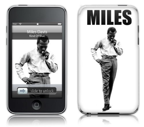 MusicSkins Miles Davis - Stance for Apple iPod touch (2nd/3rd Generation) from MusicSkins