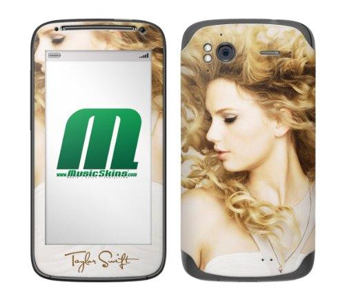 MusicSkins Taylor Swift Fearless Skin for HTC Sensation from MusicSkins