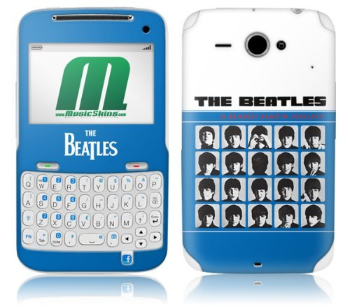MusicSkins The Beatles A Hard Day's Night Skin for HTC ChaCha from MusicSkins