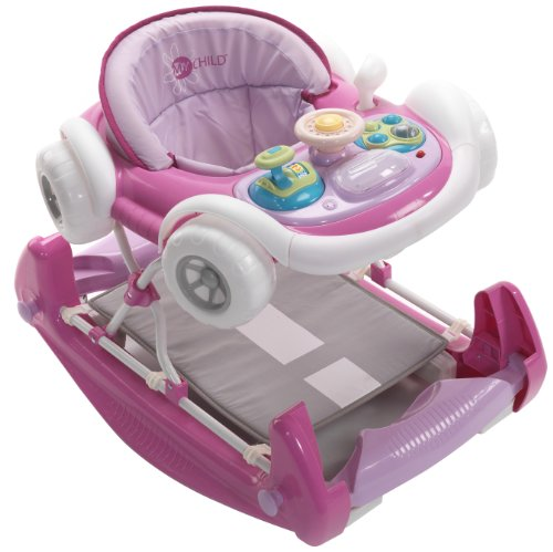 Mychild Coupe 2-in-1 Baby Walker Pink from My Child