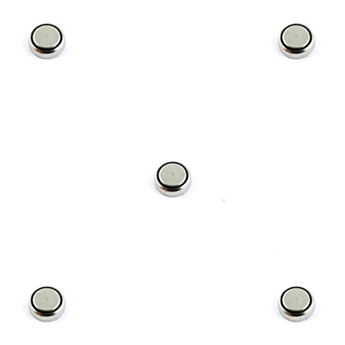 Pack of 5 AG9 Alkaline Watch Batteries 1.5 V My-Watch from My-Montre