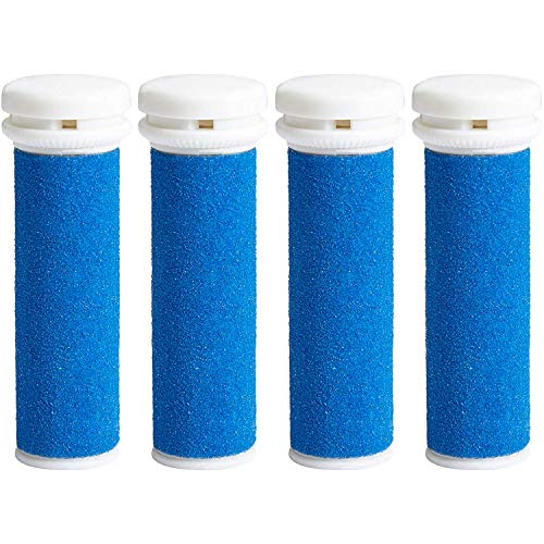 4 x Extra Coarse Blue Micro Mineral Replacement Rollers Compatible with Micro Pedi from My Rollers