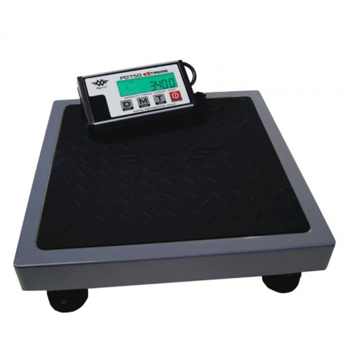 Heavy Duty 330kg 750lbs Stones Large Capacity Platform Industrial Shipping Scale from My Weigh