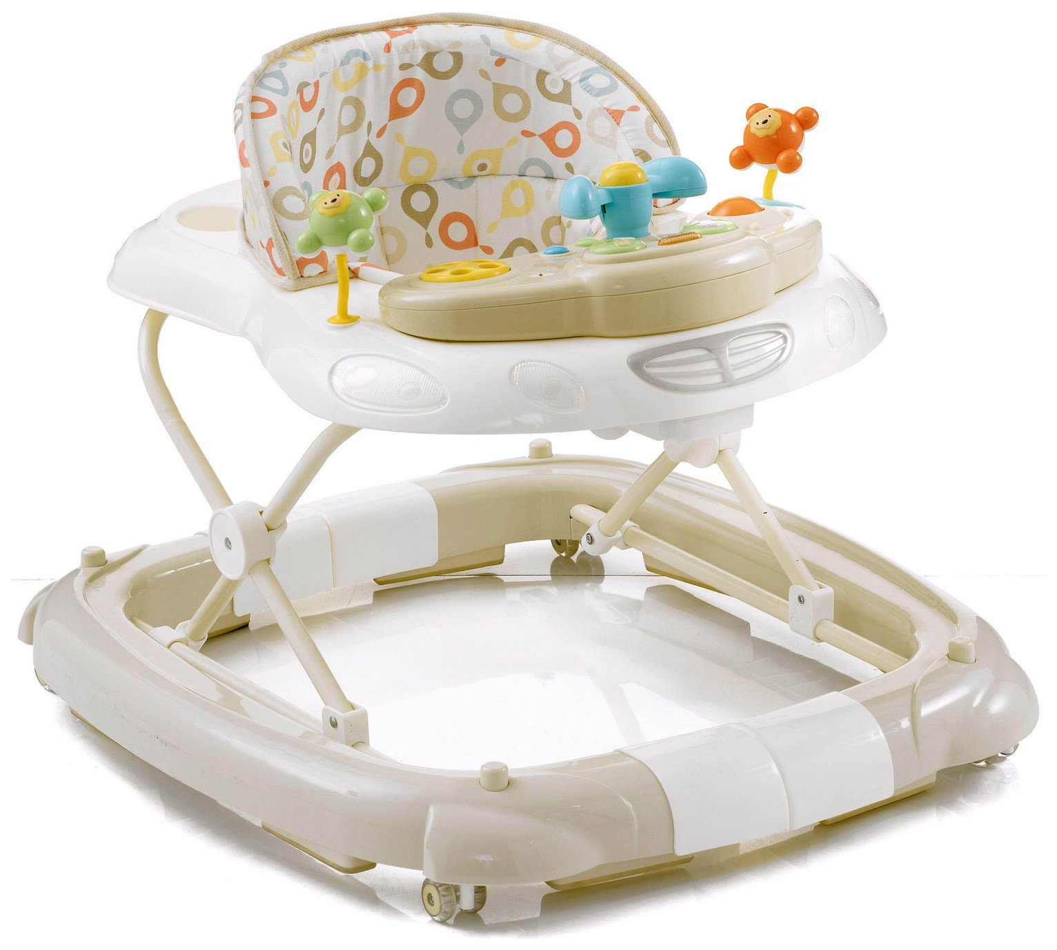 MyChild - Walk N Rock 2 In 1 - Baby Walker - Neutral from Mychild
