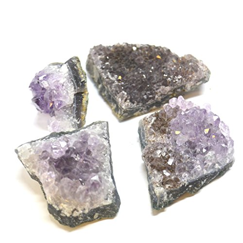 Brazilian Medium Amethyst Cluster -Great for Stocking Gift, Crystal Collection and Party Bag - Free Postage! from Mystery Mountain