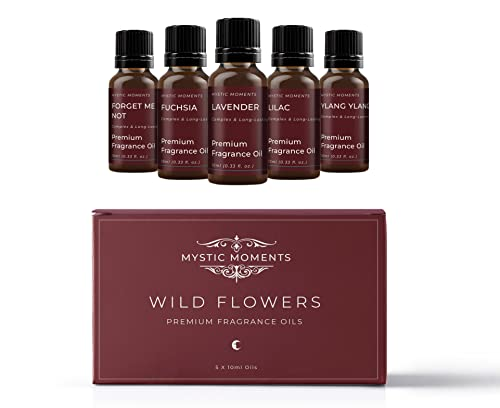 Mystic Moments Fragrant Oil Starter Pack - Wild Flowers - 5 x 10ml from Mystic Moments