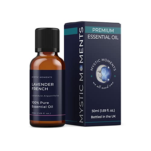 Mystic Moments | Lavender French Essential Oil - 50ml - 100% Pure from Mystic Moments