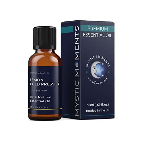 Mystic Moments | Lemon Cold Pressed Essential Oil - 50ml - 100% Natural from Mystic Moments