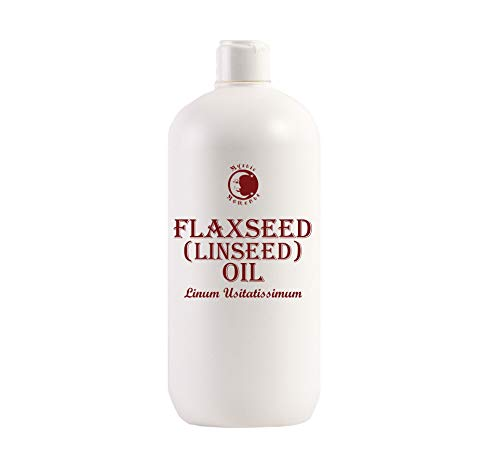 Mystic Moments | Flaxseed (Linseed) Carrier Oil - 1 Litre - 100% Pure from Mystic Moments